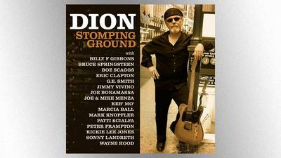 Springsteen, Clapton, Mark Knopfler among stars featured on Dion's upcoming album, 'Stomping Ground'