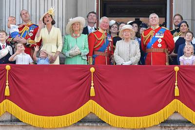 What is the line of succession for the British throne?