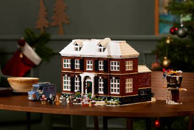 Lego to sell 'Home Alone' house kit this holiday season