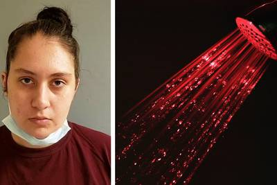 Granddaughter who slashed couple's throats took Uber to scene, showered afterward, cops say